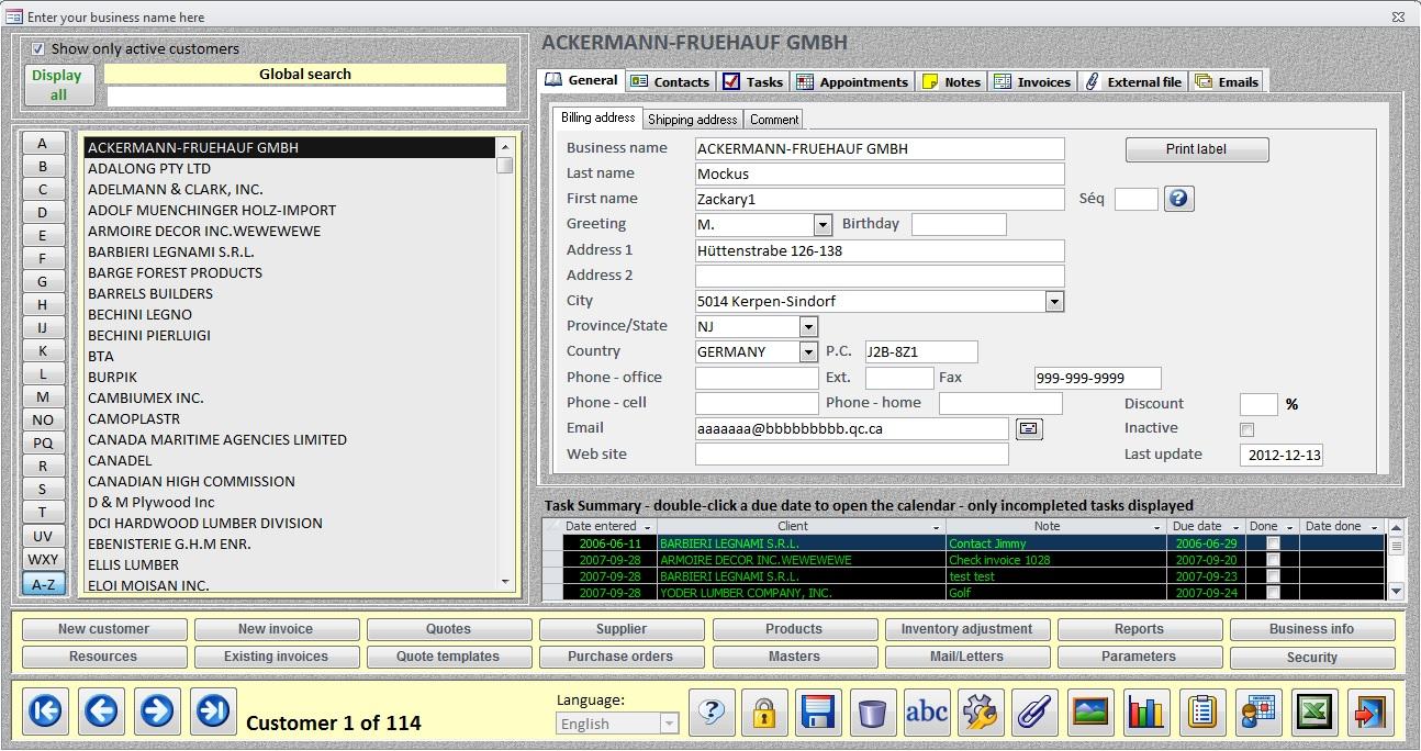 microsoft access schedule template